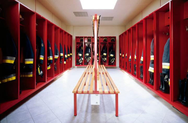 Fire Service Lockers